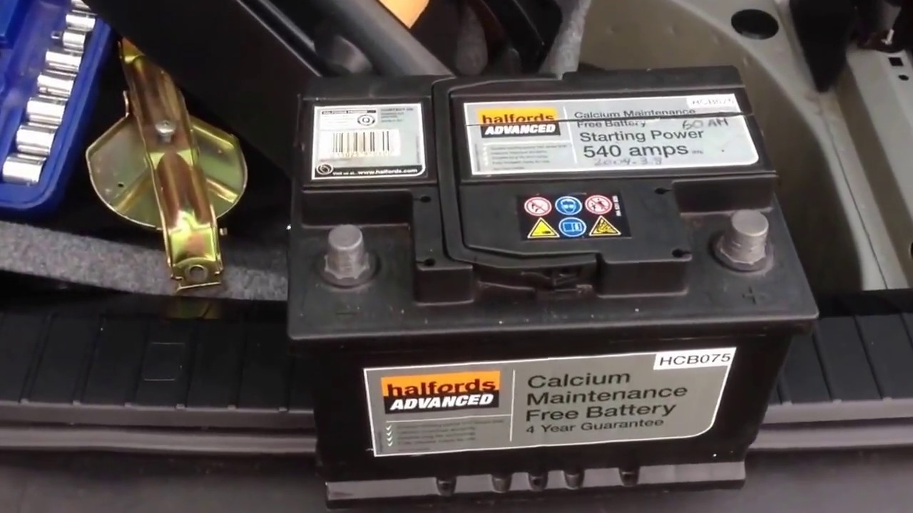 BMW 3 Series used bmw battery BMW E46: How to remove the battery in the car boot - YouTube