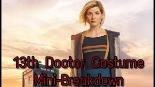 13th Doctor Costume Revealed! Mini-Breakdown