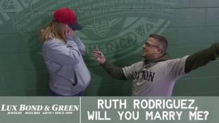 Fenway Park Proposal 4/14/17 - Justin & Ruth