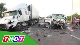 Tai nạn giao thông thảm khốc ở Quảng Nam do tài xế ngủ gật | THDT