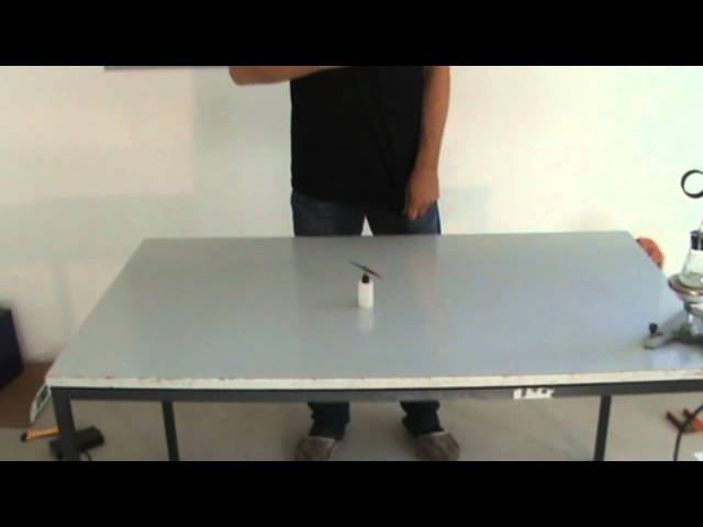Magnetic end electric force - science experiment