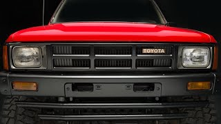 1985 Toyota 4x4 Pickup Truck/Hilux  Review