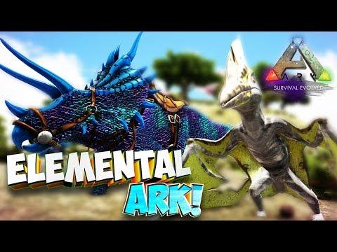 Бронебойные динозавры!  - Ark Survival Evolved: Elemental Ark #1