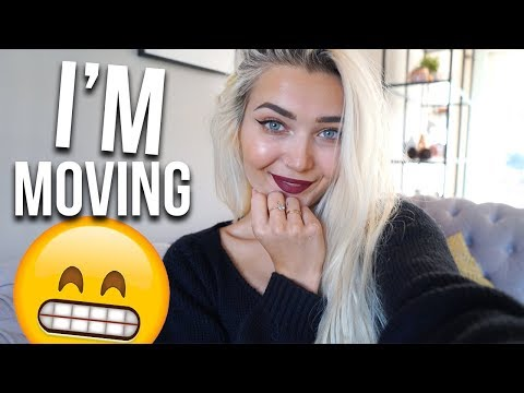 WE'RE MOVING & MY FENTY BEAUTY ORDER ARRIVED!