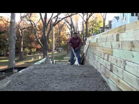 Ohio Valley Group timber retaining wall YouTube