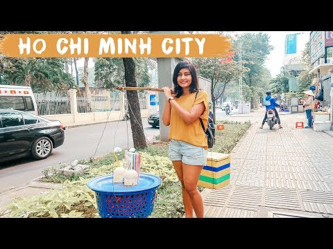 EXPLORING HO CHI MINH CITY - Vietnam Travel Vlog