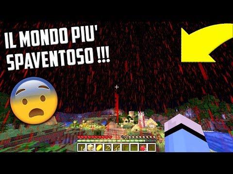 IL MONDO PIU' SPAVENTOSO DI MINECRAFT !!!