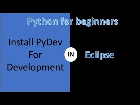 Install PyDev in eclipse for python Development   Python Tutorial thumbnail
