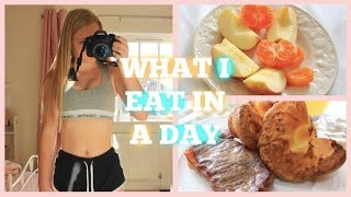 WHAT I EAT IN A DAY! 14 YEAR OLD GIRL!
