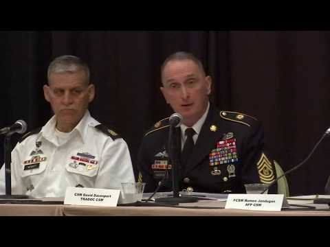 Senior Enlisted Forum Multi-Domain Battle, session 2