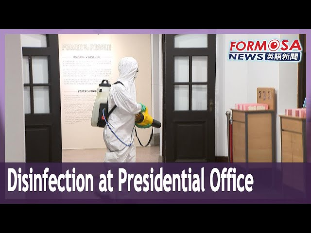 Presidential Office employee placed under home isolation