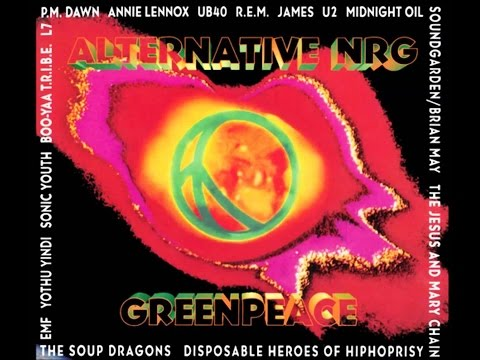 ALTERNATIVE NRG GREENPEACE   el gran musical  canal + ( reportaje 1994)