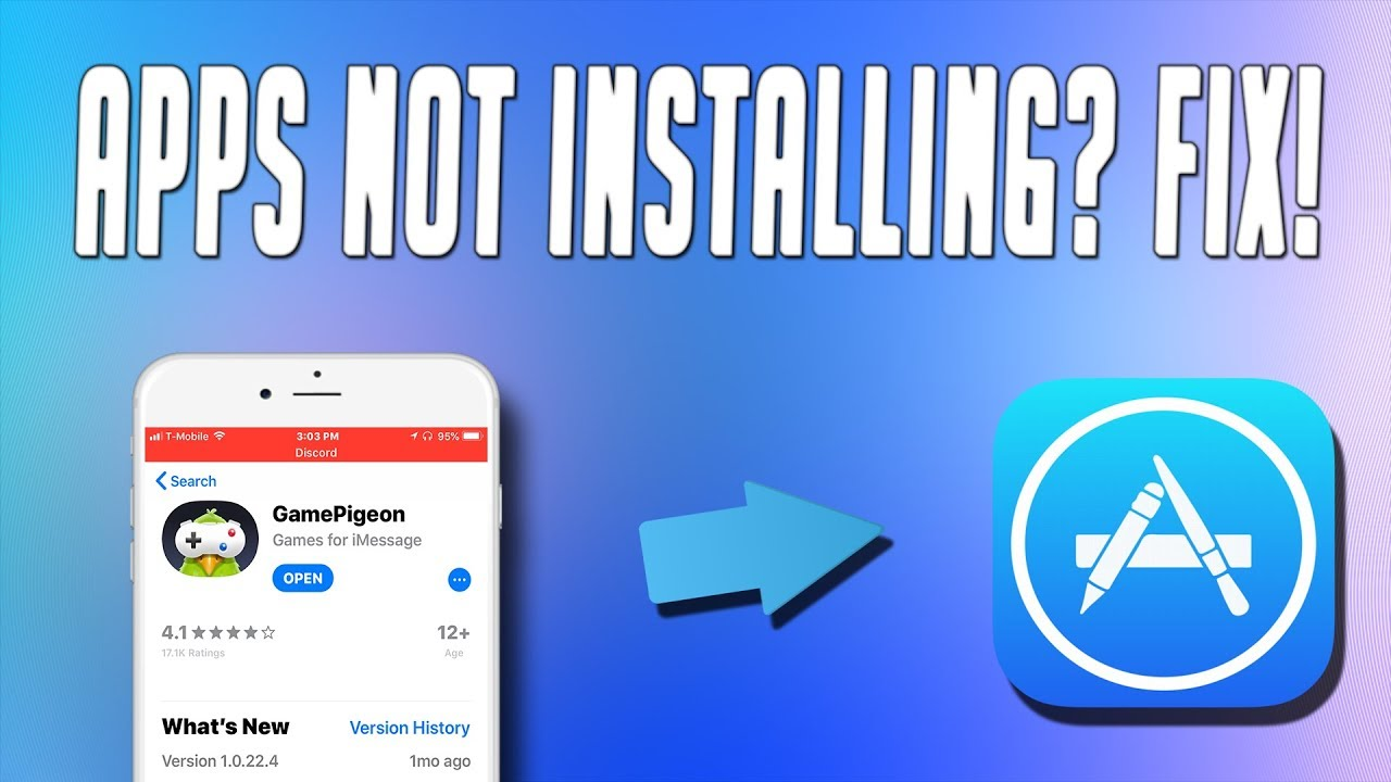 How To Fix Apps Not Installing On iOS 11, iOS 11 Fix! Unable To Install  Apps From AppStore Fix!!