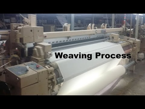 Textile Production || How Do Weavers Work || How Do You Weave Fabric || Method of Textile