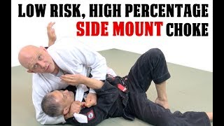 Here's how to choke someone out from sidemount in such a way that e...