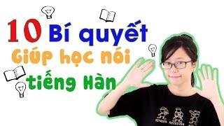 10 bí quyết giúp học nói tiếng hàn- Eki