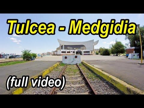 Tulcea-Medgidia full rearview-Trainride-Zugfahrt