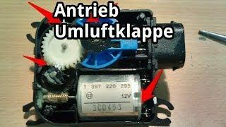 Stellmotor Umluftklappe ausbauen und reparieren / instandsetzen - Skoda Fabia - VW Polo 9N