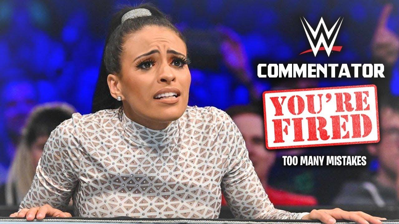 WWE Fires Popular Commentator After Her Unforgivable Huge Mistake On Live TV
