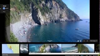 (Cinque Terre *Italian Riviera Beachs* Find them Using Google Maps)