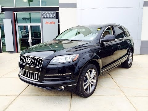 2014/2015 Audi Q7 3.0T Premium Plus Startup, Exhaust and In depth Review