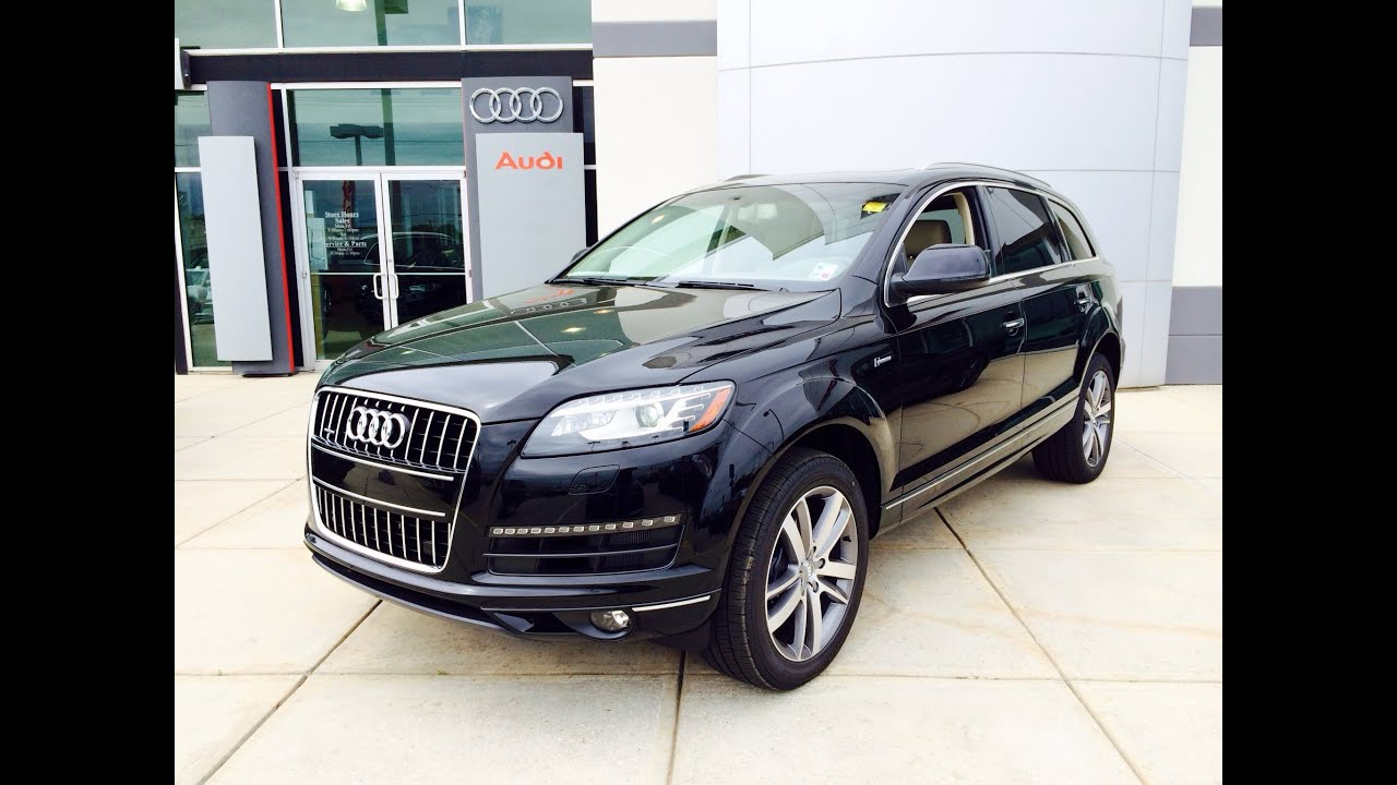 2014/2015 Audi Q7 3.0T Premium Plus Startup, Exhaust and In depth ...