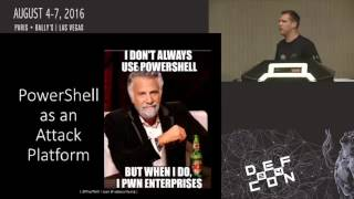 DEF CON 24 - Beyond the MCSE: Red Teaming Active Directory