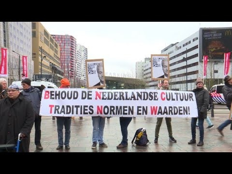 Dutch far-right protest against govt, Islam
