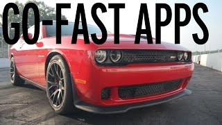 Cool Performance Apps of the '15 Dodge Challenger SRT Hellcat
