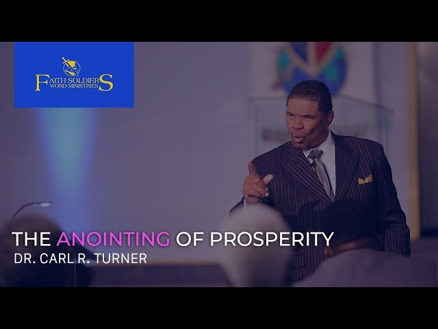 The Anointing of Prosperity