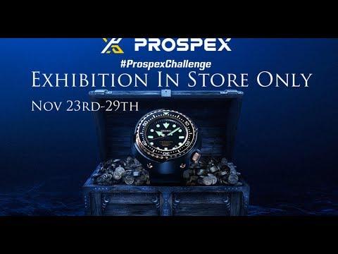 PROSPEX CHALLENGE EXHIBITION - JAMES PORTER & SON