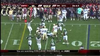 9/20/2008 - Michigan State 23 Notre Dame 7