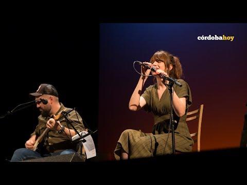 María Rodés en la inauguración de la 16 Edición de Cosmopoética