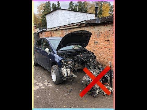 Замена мотора | Nissan Tiida C11 |