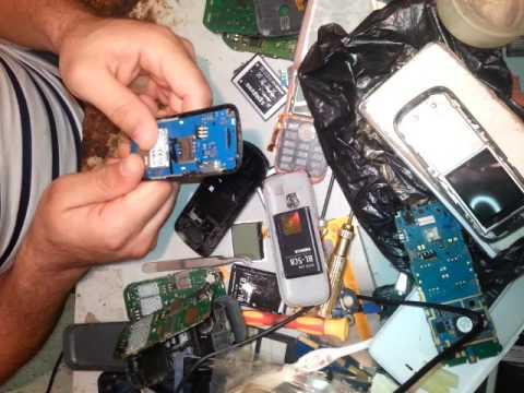 Samsung E1087T problème lecteur carte sim puce