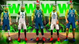 FIRST EVER DF 1v1 RUSH RACE in NBA 2K20! Who's the BEST PLAYER in MY CLAN!? NBA2K20