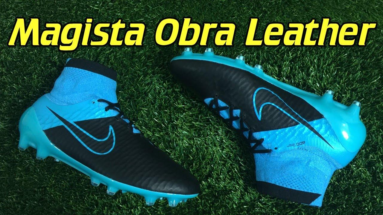 soborno recompensa Sobrio  K-Leather Nike Magista Obra (Tech Craft Pack) - Review + On Feet - YouTube
