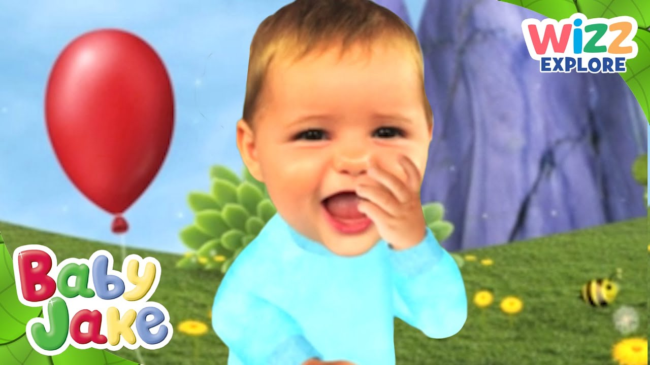 Baby Jake | Playing with Balloons! | Full Episodes | Wizz ...