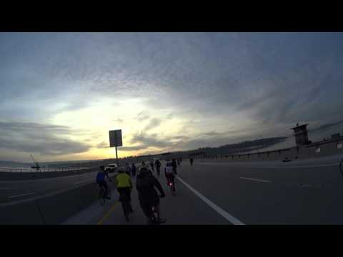 Emerald City Bike Ride - 4K helmet cam - April 3, 2016