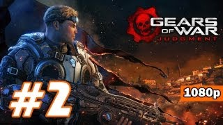 Gears of War: Judgment PART 2 Playthrough [1080p] X360 Lets Play TRUE-HD QUALITY