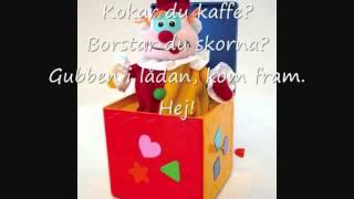 Gubben i lådan (med text)