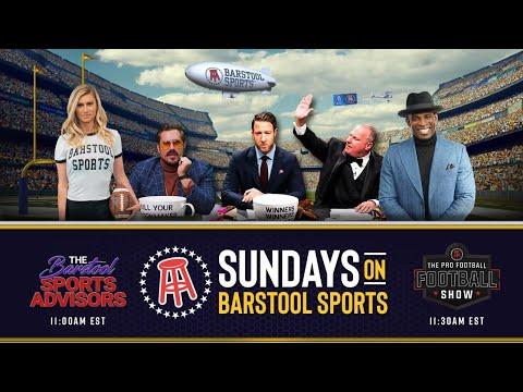 LIVE NFL PreGame: Barstool Sports Advisors & The Pro Football Football Show With Deion Sanders