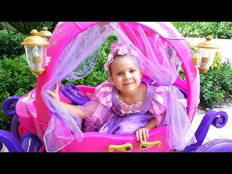 Диана и её сон про Игрушки принцессы
