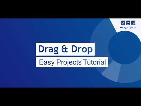 Drag and Drop - Easy Projects Tutorial