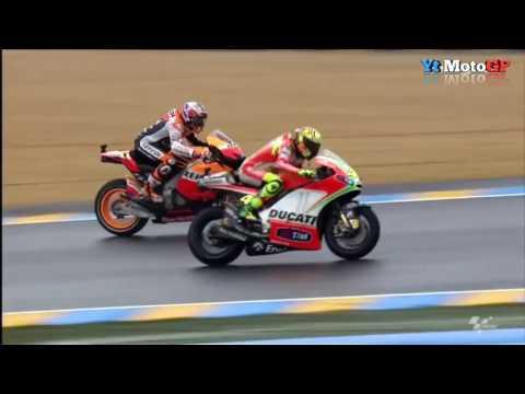 MotoGP Best Moment Duel Sengit Rossi vs Stoner HD Mp3