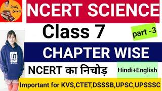 PART-3:NCERT SCIENCE:रेशों से वस्त्र तक/Fibre to fabric-Chapter3Class 7 Science/CTET,KVS,UPSC,uppsc