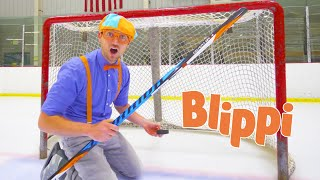 Blippi Fun and Learning For Toddlers At The Ice Rink   Educational Videos For Kids   1 Hour Blippi