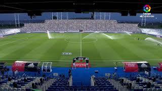 Calentamiento Real Madrid vs RCD Mallorca