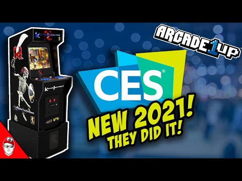 Arcade1up CES 2021 - Killer Instinct from Console Kits