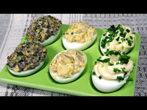 Pyszniutkie jajka faszerowane